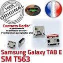 Samsung Galaxy TAB E SM-T563 USB Dock à Prise Connecteur inch charge 9 Pins Connector Dorés Chargeur SM souder T563 Micro de ORIGINAL