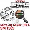 TAB E SM T565 USB Samsung Galaxy Dock MicroUSB Dorés ORIGINAL charge SM-T565 Connector Qualité SLOT Chargeur TAB-E Fiche à souder Pins Prise de