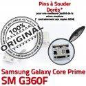 Samsung Prime SM-G360F USB Charg G360F Dorés Galaxy Connecteur Pins Connector Micro souder SM Prise Chargeur charge Qualité à ORIGINAL de Core