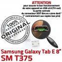 Samsung Galaxy Tab E T375 USB souder Pins ORIGINAL inch Connecteur de TAB Dock charge Micro Chargeur Dorés SM à Connector Prise 8