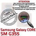 Samsung Core SM G355 Micro USB Fiche de Pins Connector Qualité SM-G355 Dorés souder Prise Chargeur PORT Dock ORIGINAL charge Galaxy à 2