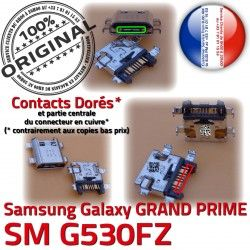 SM Galaxy GRAND Micro de G530FZ Chargeur Samsung Connecteur USB Prise ORIGINAL à Qualité PRIME Connector Charge souder Doré SM-G530FZ charge