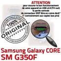 Samsung Core SM-G350F USB Charge ORIGINAL de SM Micro Prise Galaxy souder Plus G350F Pins Dorés Connector Qualité à Chargeur Connecteur charge