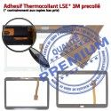 Galaxy SM-T533 Tab4 Blanche Qualité Complet Verre Prémonté PREMIUM Blanc Tactile Vitre Samsung Écran Supérieure Complète Adhésif TAB4