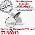 GT-N8013 Micro USB NOTE Charge Contacts GT Réparation OFFICIELLE Nappe Samsung N8013 Galaxy Qualité Chargeur de Dorés ORIGINAL Connecteur MicroUSB