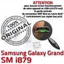 Samsung Galaxy i879 USB GT ORIGINAL charge Connector souder Qualité Prise Dock à Connecteur Dorés de Pins Grand Chargeur Micro