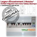Contacteur Extracteur 16A Aérateur Digital Commande 4000W Tableau électrique Electronique Rail Journalière Programmation Automatique 4kW