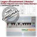 Programmateur Préchauffage 16A 4kW Digital Minuterie Automatique Programmation Tableau Journalière DIN électrique Electronique Rail 4000W