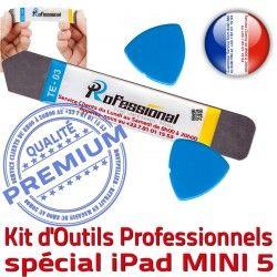 Ecran PRO Réparation Outils KIT iSesamo Qualité A2125 iPadMini Remplacement Vitre Compatible A2124 Démontage Mini5 Professionnelle 5 iLAME Tactile iPad