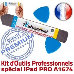 PRO 9.7 Tactile 2016 KIT iLAME Vitre iPad Remplacement Démontage Compatible Professionnelle Qualité Réparation iSesamo Outils Ecran A1674
