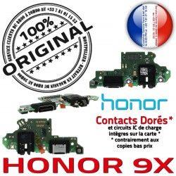 ORIGINAL JACK Charge 9X Honor PORT Antenne Qualité Microphone Branchement C Chargeur OFFICIELLE Micro USB Téléphone Câble Nappe