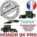 Honor 9X PRO JACK AUDIO Antenne Câble Chargeur Nappe ORIGINAL Qualité Audio PORT Casque Type-C Charge USB Microphone Téléphone Micro