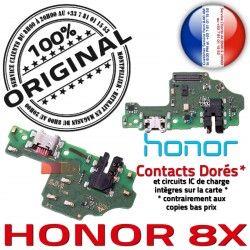 Huawei 8X Microphone Charge Prise Honor Nappe ORIGINAL PORT USB Qualité SMA Antenne Téléphone GSM OFFICIELLE Chargeur Connecteur