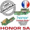 Honor 5A RESEAU ORIGINAL Micro Antenne JACK OFFICIELLE Qualité USB Prise Connecteur Charge Câble de Chargeur Microphone Nappe