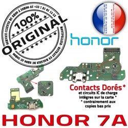 Qualité Micro Honor Microphone RESEAU ORIGINAL PORT USB Antenne Charge Prise Téléphone Nappe JACK 7A OFFICIELLE Chargeur Câble