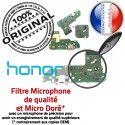 Honor 7A JACK AUDIO Microphone Charge Chargeur Micro Qualité Câble PORT Casque Antenne ORIGINAL Audio Nappe USB OFFICIELLE Téléphone