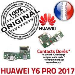 Microphone Antenne Y6 ORIGINAL Huawei de Charge Téléphone PORT Micro Qualité Branchement USB 2017 Nappe Câble PRO JACK Chargeur