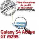 Samsung Galaxy S4 GT i9295 C Qualité Antenne Nappe MicroUSB ORIGINAL Active Charge OFFICIELLE Microphone Chargeur Prise Connecteur
