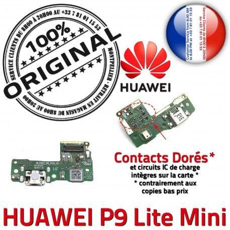 Huawei P9 Lite Mini JACK AUDIO Chargeur Micro Audio Microphone Qualité Antenne Charge Nappe SMA ORIGINAL USB Câble de PORT DOCK Casque