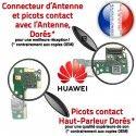 Huawei P9 Lite Mini JACK AUDIO SMA Chargeur Câble Casque Nappe ORIGINAL de USB Antenne Micro PORT DOCK Microphone Audio Qualité Charge