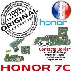 7C Prise C Téléphone Honor OFFICIELLE Microphone Chargeur Câble Qualité Charge Micro Branchement Antenne ORIGINAL PORT Nappe USB