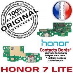 RESEAU de MicroUSB Microphone Charge LITE Honor Qualité Connecteur USB 7 OFFICIELLE Micro JACK Nappe Câble Chargeur Antenne Prise ORIGINAL