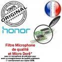 Honor 8 USB Type-C ORIGINAL Nappe Antenne de Micro Prise Qualité Câble OFFICIELLE Charge RESEAU Connecteur Chargeur Microphone