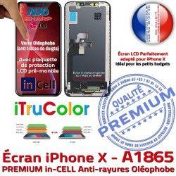 Liquides Retina 5,8 SmartPhone True inCELL Vitre pouces LCD X A1865 Affichage PREMIUM Super iPhone Écran Cristaux Tone Apple