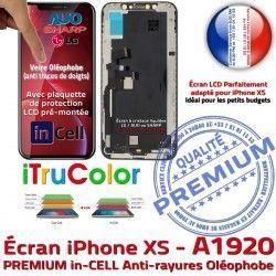 in-CELL Ecran Cristaux A1920 Écran LCD Apple XS SmartPhone Verre iTrueColor PREMIUM Touch Multi-Touch Liquides Remplacement iPhone inCELL