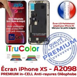LG Oléophobe LCD Tactile Tone Multi-Touch inCELL Écran HDR iTrueColor Verre Affichage in-CELL iPhone SmartPhone Vitre PREMIUM True A2098