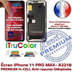 SmartPhone iTrueColor Apple 6,5 in Réparation Cristaux Retina LCD Écran PREMIUM Liquides A2218 HD Touch inCELL iPhone 3D Ecran