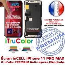 PREMIUM Complet Apple 6,5 inCELL in iPhone 11 Retina Châssis Écran Affichage MAX PRO Cristaux LCD Qualité SmartPhone Liquides