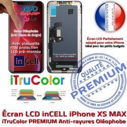 pouces Affichage True HDR Oléoph XS LG Super Écran inCELL MAX PREMIUM iPhone 6.5 SmartPhone Changer Vitre Tone Apple Retina LCD In-CELL