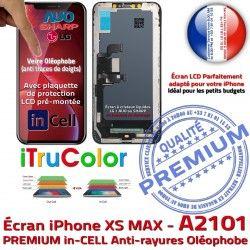 Complet Réparation Écran PREMIUM 6,5 Tactile MAX XS True inCELL Qualité iPhone Retina Verre Tone LCD A2101 in-CELL SmartPhone Affichage