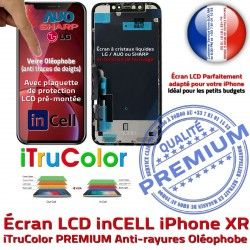 inch True Affichage 6,1 inCELL XR Réparation Super HDR Écran PREMIUM iPhone Apple Retina Verre Qualité SmartPhone in-CELL Tone HD Tactile LCD
