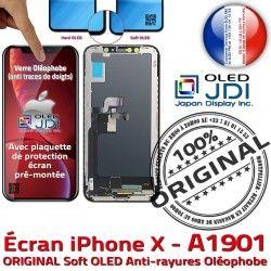 Tone SmartPhone X Affichage ORIGINAL Verre A1901 Super Retina Écran OLED True Tactile HD iPhone soft in 5,8 Qualité Réparation