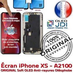 XS Chassis Vitre pouces soft Tactile iPhone Châssis sur Complet Apple OLED A2100 Affichage 5,8 SmartPhone Super Retina Ton True ORIGINAL