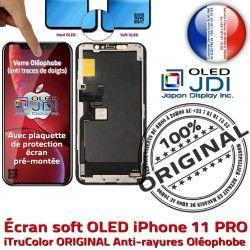 iPhone soft KIT Écran Multi-Touch ORIGINAL 11 Vitre Tactile Complet Verre Remplacem Touch sur PRO Châssis 3D Apple OLED Assemblé