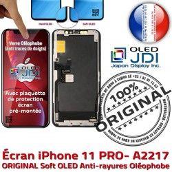 Verre 5.8 PRO OLED Vitre 11 iPhone Écran Changer Oléop Apple LG pouces A2217 Super ORIGINAL SmartPhone Retina Tone Affichage soft True