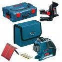 GLL 3-80 P Bosch Professional 1 601 Laser (1 A01) support 015 (0 1RR) 600 A00 309) 136 063 + L-BOXX BM