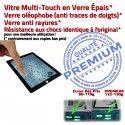 PACK iPad4 A1459 N iPad Outils Démontage Bouton Verre Noire Precollé 4 Tactile PREMIUM Adhésif KIT Réparation Oléophobe HOME Qualité Vitre
