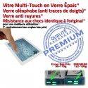 PACK A1459 iLAME Joint Nappe B Réparation Tablette Precollé Outils Apple Blanche Verre Vitre Adhésif Bouton iPad4 PREMIUM HOME Tactile