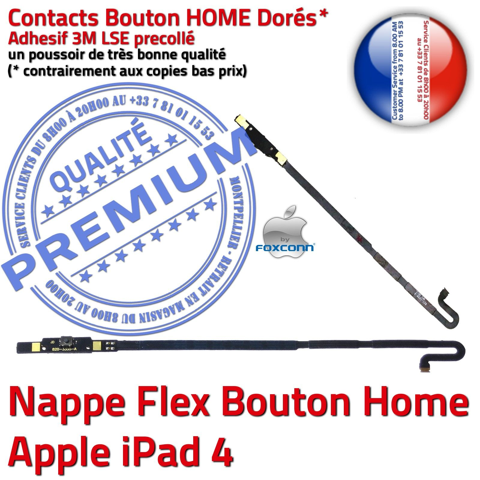 kit vitre tactile ipad4 a1458 blanc cran verre outils joint nappe bouton home ebay. Black Bedroom Furniture Sets. Home Design Ideas