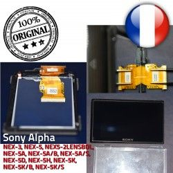 Part 3″ Repair cm ORIGINAL Écran liquides 412AKM1 Sony Display LCD cristaux Replacement Alpha NEX-5 Remplacement 7,5 -