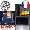 Sony LCD 412AKM1 NEX-5 cm liquides Écran cristaux Replacement Remplacement ORIGINAL Display 7,5 Alpha - 3″ Repair Part