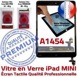 Noir Nappe Caméra Verre Tablette iPad Oléophobe Monté A1454 Home Ecran Mini1 Vitre Tactile Filtre Bouton Réparation Adhésif Fixation