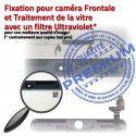 Mini3 iPad A1601 Blanc Bouton Tactile Verre Vitre Adhésif Fixation Réparation Filtre Caméra Tablette Ecran Oléophobe Monté Home Nappe