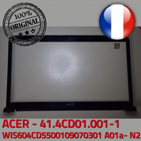 ACER Front Bezel Cover ASPIRE 41.4CD01.001-1 Frame Screen Mitsubishi Ecran ORIGINAL WIS Acer WIS604CD5500109070301 LCD PC Contour