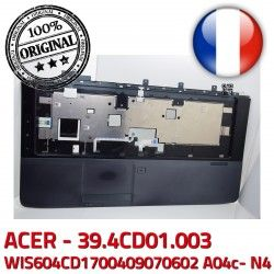 Frame KeyBoard 39.4CD01.003 Portable 50.4CD05.01 JM70 TOUCHPAD Acer Cover PC Touchpad Boutons A04c- Case ACER Mouse WIS604CD1700409070602 ASPIRE N4