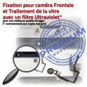 iPad Mini3 A1599 Blanc Tablette Adhésif Caméra Filtre Ecran Fixation Home Réparation Verre Tactile Nappe Bouton Monté Oléophobe Vitre
